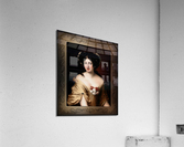 Portrait of Contessa Ortensia Ianna Stella by Jacob Ferdinand Voet Classical Fine Art Xzendor7 Old Masters Reproductions  Acrylic Print
