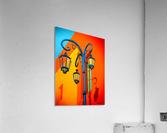 La Boca Lamp Shadows II  Acrylic Print