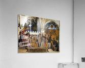 The Court of Mantua  Acrylic Print