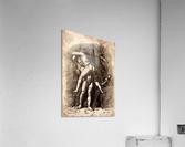 Hercules and Antaeus  Acrylic Print