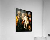 Holy Family with Saints Elizabeth and John the Baptist  Acrylic Print