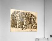 Four Muses  Acrylic Print
