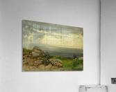 Landscape in Taormina, Sicily  Acrylic Print