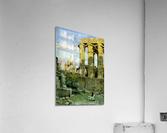Temple of Luxor, with Abu al Haggag Mosque  Acrylic Print