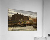 In the port of Naples  Acrylic Print