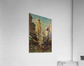 Oriental street scene  Acrylic Print