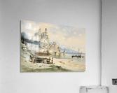 Sicilian Coastal Landscape  Acrylic Print