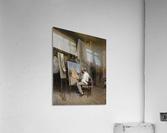 Le peintre dans son atelier  Acrylic Print