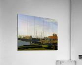 Larsen Square near Copenhagen Harbor  Acrylic Print