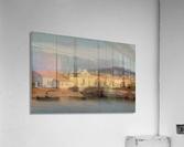 Vue des environs de Marseille  Acrylic Print