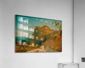 Tiberiusfelsen auf Capri  Impression acrylique
