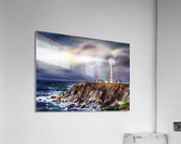 Lighthouse Point Arena At Night  Acrylic Print