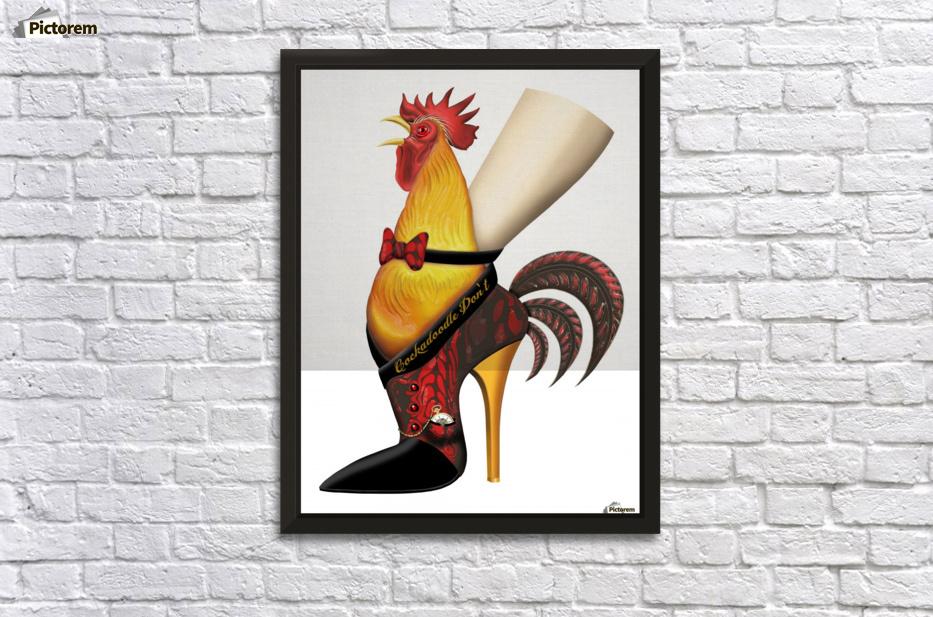 Rooster Strut - AnarKissed Canvas