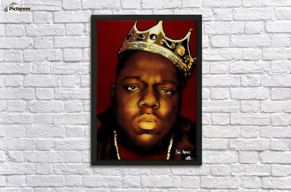 Biggie Smalls aka Notorious B.I.G Wall Decor Frame