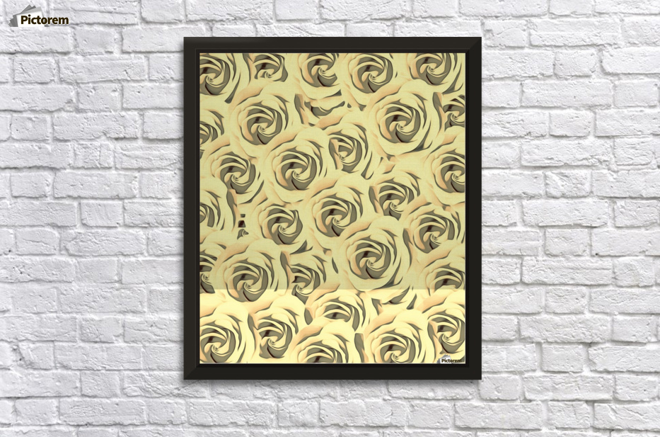 blooming yellow rose pattern texture abstract background - TimmyLA ...