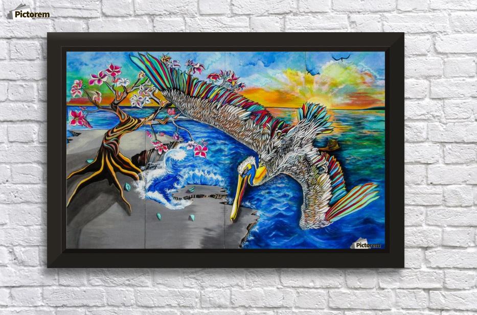 Pelican - Lana Art - Canvas Artwork