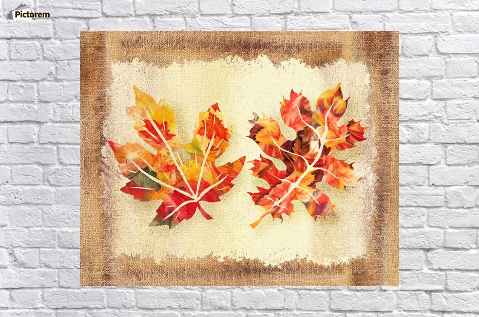 Fall Leaves Collage - Irina Sztukowski Canvas