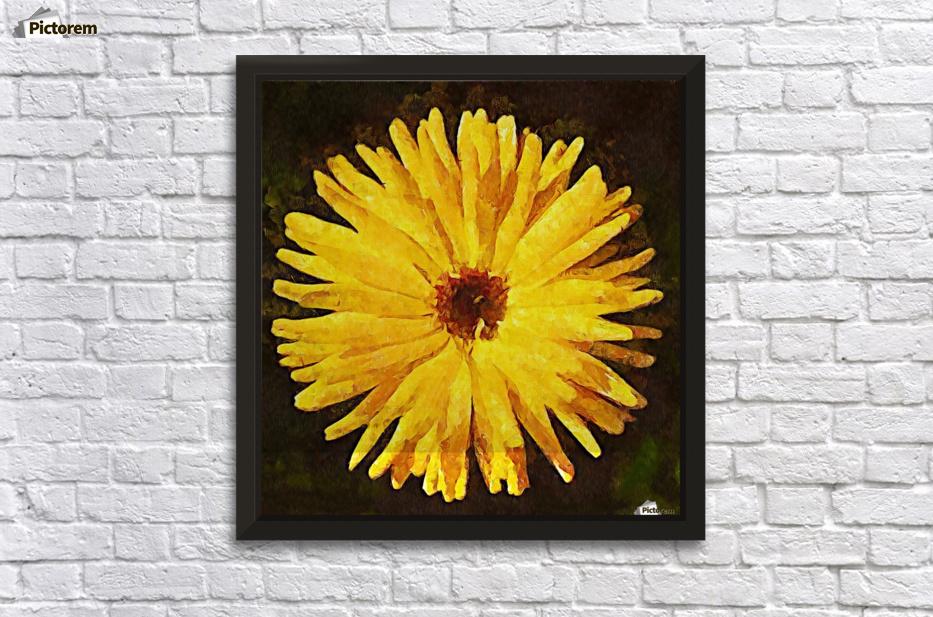 yellow burst - MIRIAM Canvas