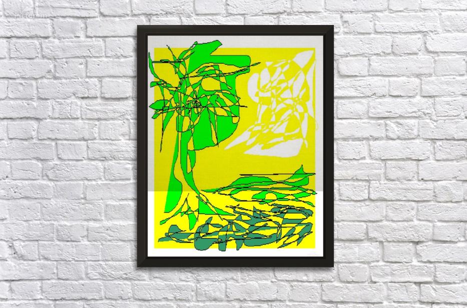 Art 04 Green spring - Dragan Mrkalj Canvas