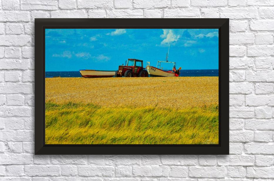 Beach Tractor - Andy Jamieson Canvas