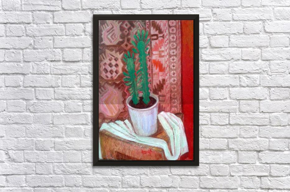 36cactus2017 Year Original Painting Oil On Canvas 50 X 35 Cm1500