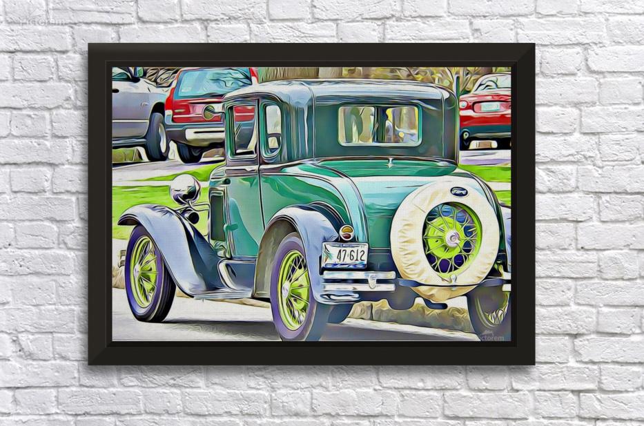 old car - MIRIAM - Canvas Artwork