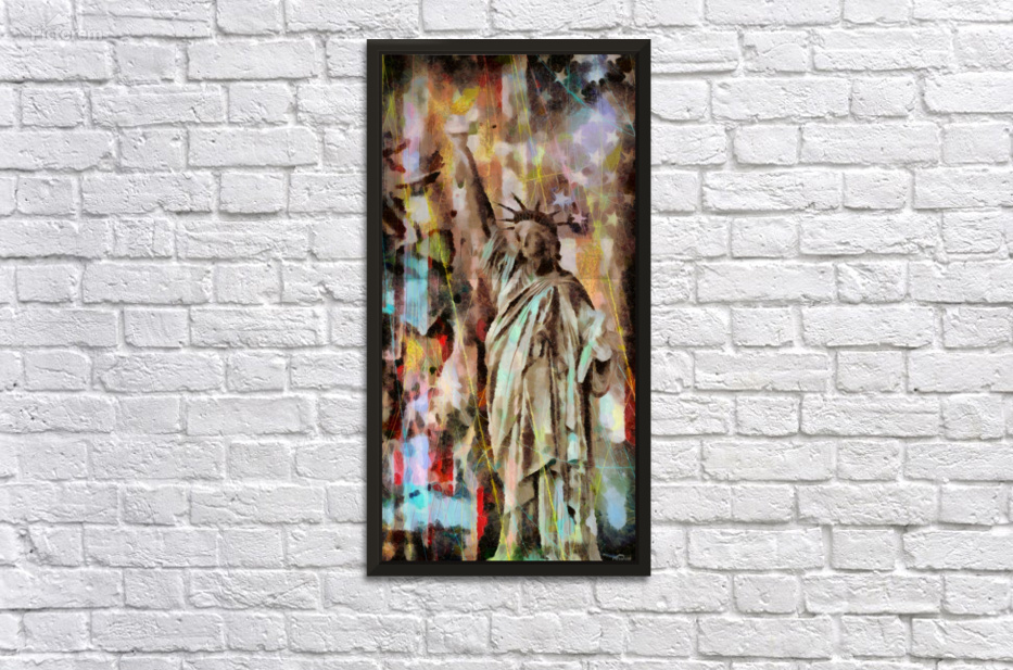 Statue Of Liberty Bruce Rolff Canvas