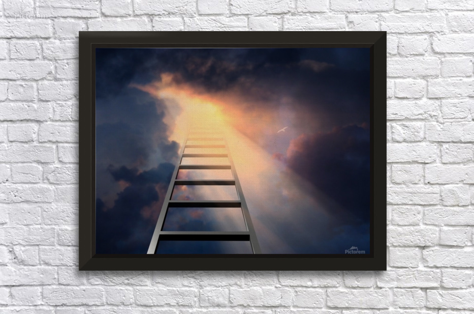 Stairway To Heaven Bruce Rolff Canvas