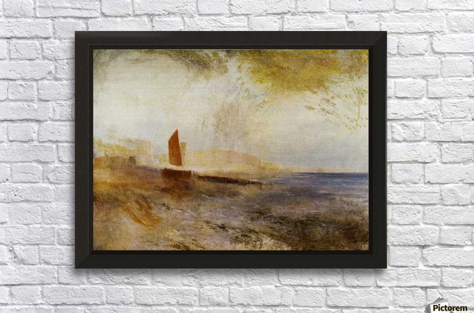 Hastings by Joseph Mallord Turner - Joseph Mallord Turner Canvas