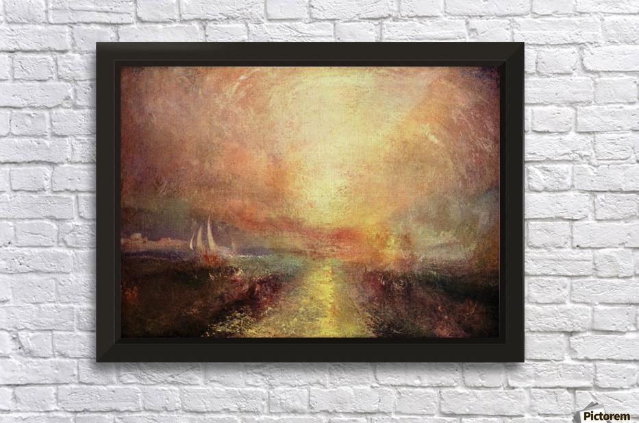Yacht approaching the coast by Joseph Mallord Turner - Joseph ...