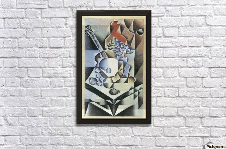Still Life with Flowers by Juan Gris - Juan Gris Canvas