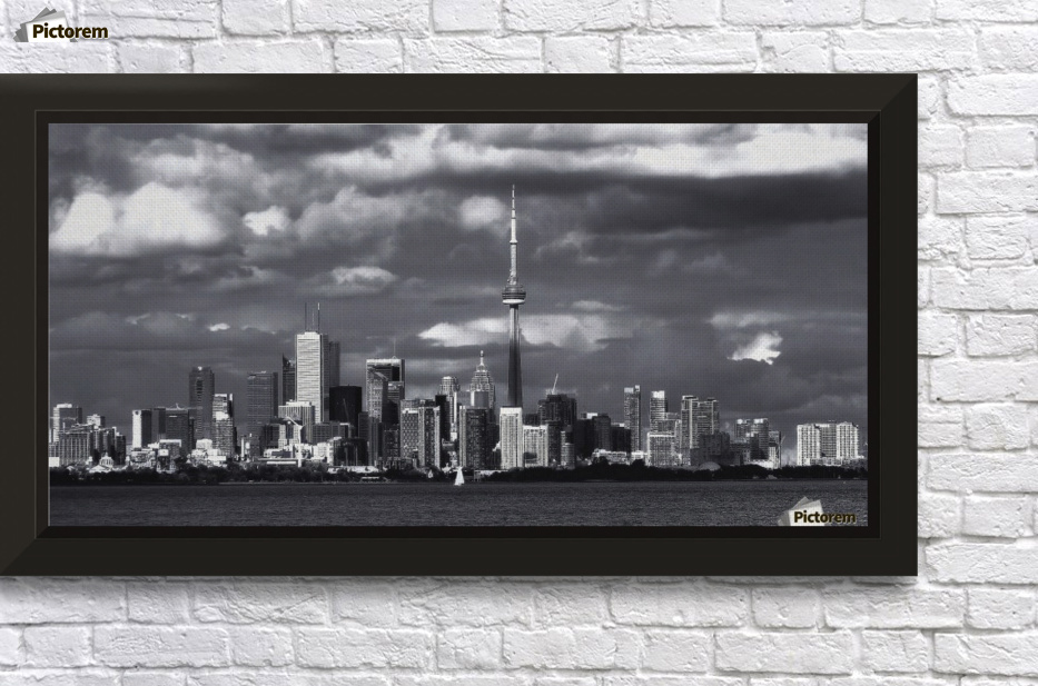 Toronto skyline. - Tracy Bennett Canvas