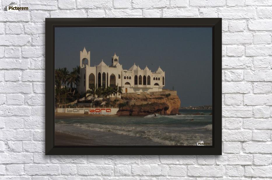 white castle wall decor frame