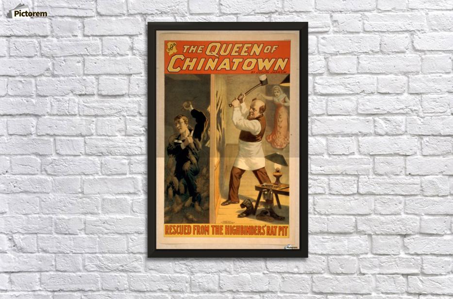 Vintage framed posters
