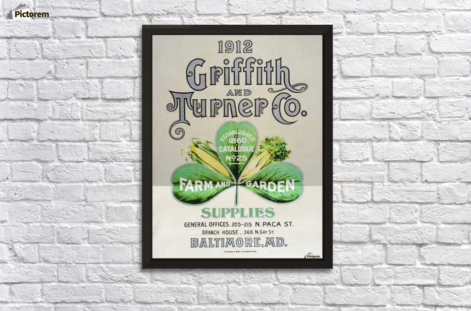 Historic Griffith And Turner Co. Farm And Garden Supply Catalog From Early  20th Century.