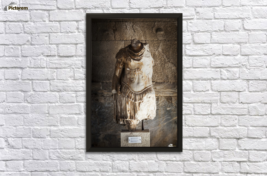 Statue of IIlad; Athens, Greece - PacificStock Canvas