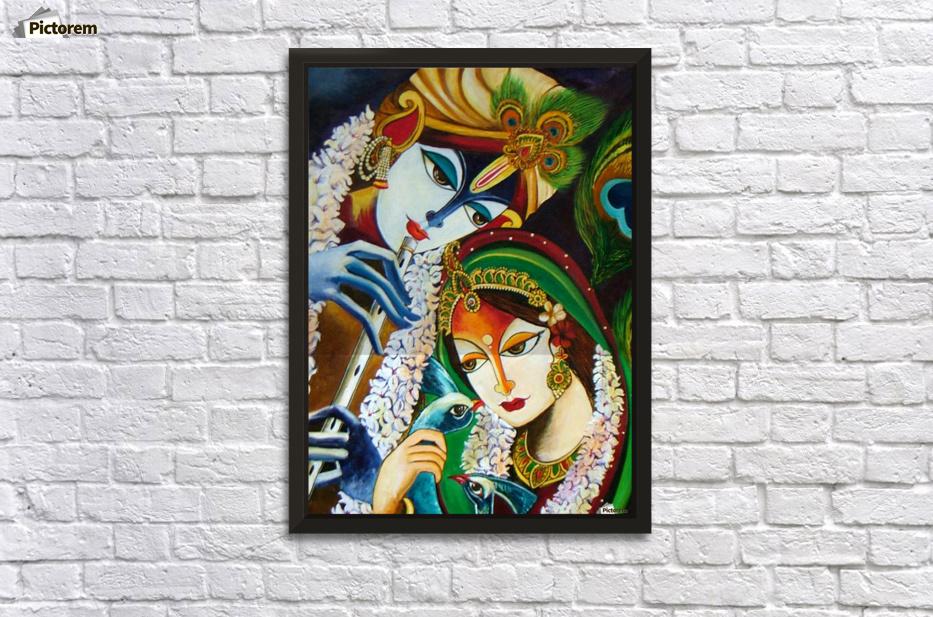 Radha Krishna - Mrs Neeraj Parswal Canvas