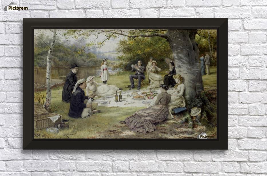 кенгуру, картина пикник килбурн зависит праздника