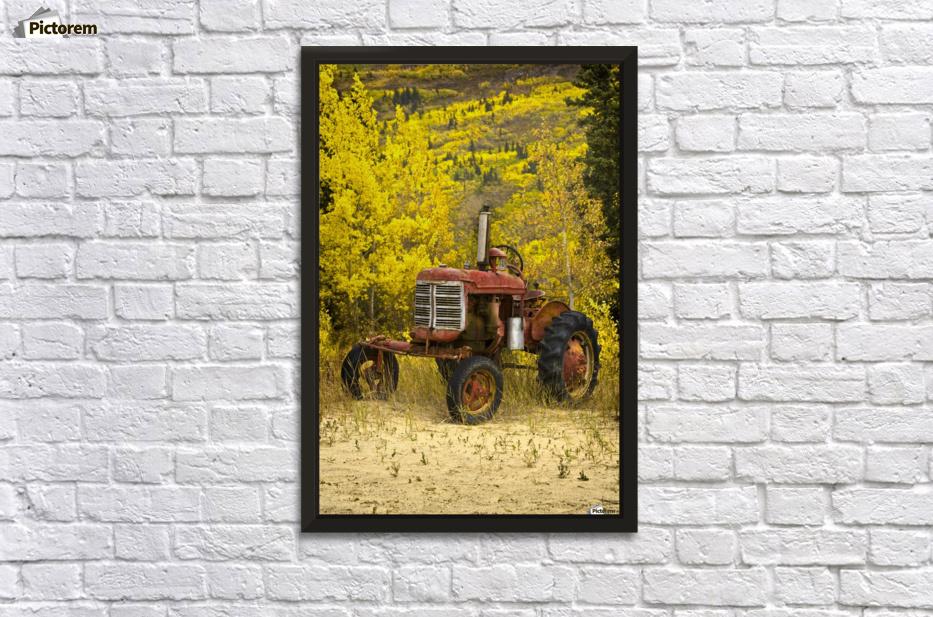 Old Farm Tractor - PacificStock Canvas