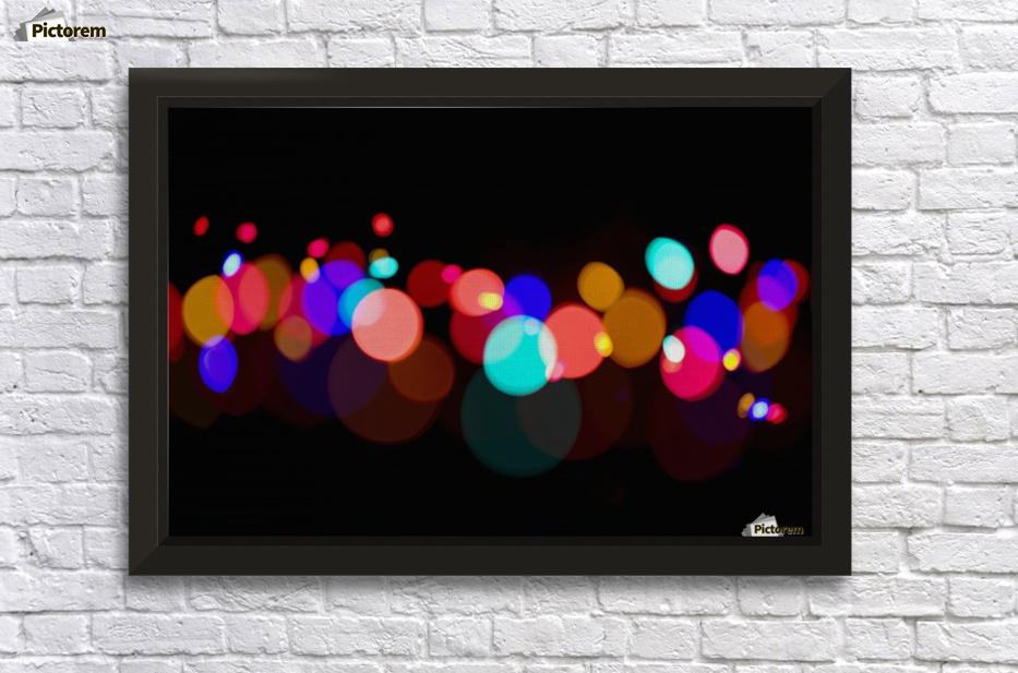 Blur of coloured lights edmonton alberta canada pacificstock canvas artwork blur of coloured lights edmonton alberta canada wall decor frame solutioingenieria Images