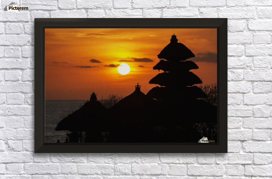 Tanah Lot Temple at sunset, Bali, Indonesia - PacificStock Canvas