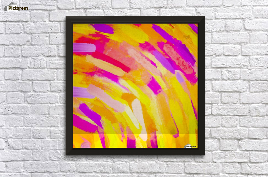 graffiti painting texture abstract in yellow pink purple - TimmyLA ...