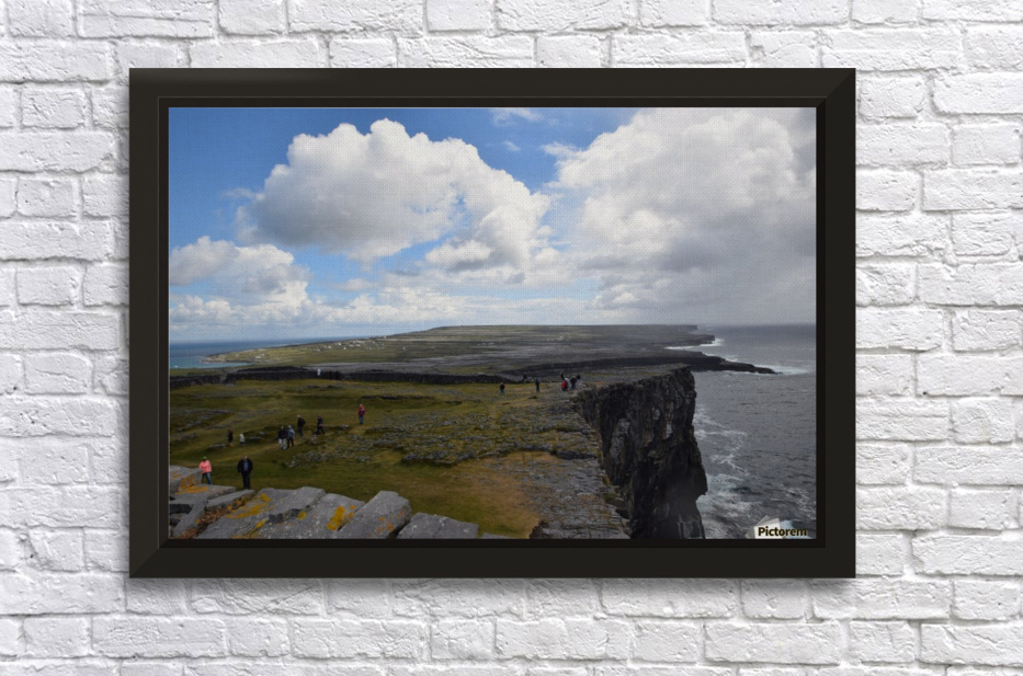 INIS MOR, THE ARAN ISLANDS Stretched Frame Print