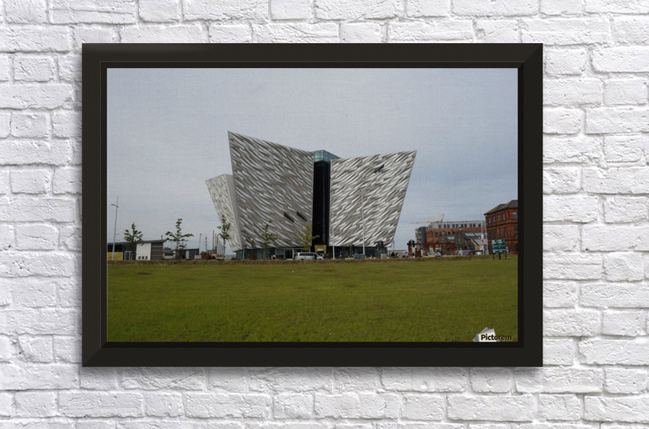 THE TITANIC MUSEUM, BELFAST Stretched Frame Print