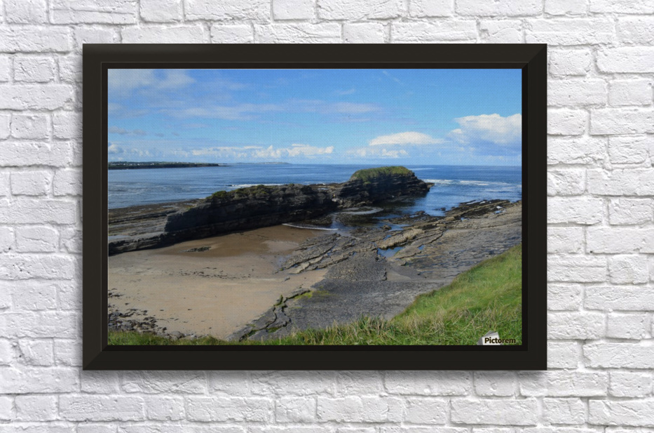 BUNDORAN, CO.DONEGAL Stretched Frame Print