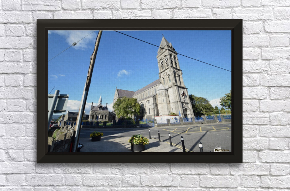 CATHEDRAL, SLIGO Stretched Frame Print