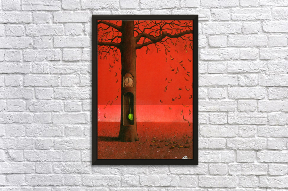 autumn Stretched Frame Print