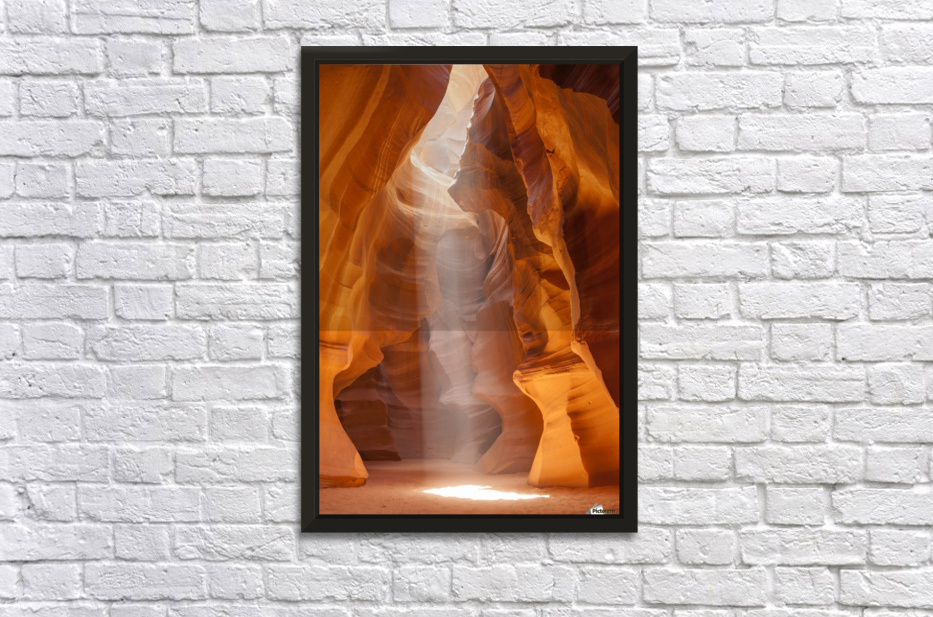 Beautiful Antelope Canyon Stretched Frame Print