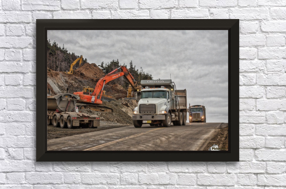Chiasson Brothers Stretched Frame Print