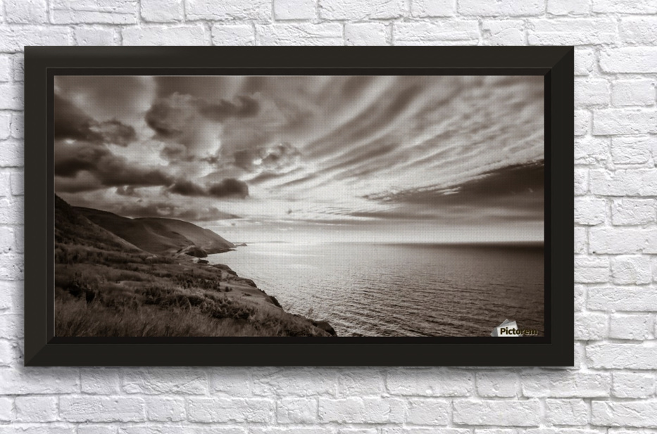 Breakthrough Skies Stretched Frame Print